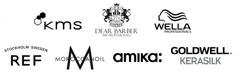 logo collage of companies products