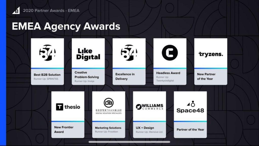 BigCommerce partner awards winner 2020 DeeperThanBlue.2